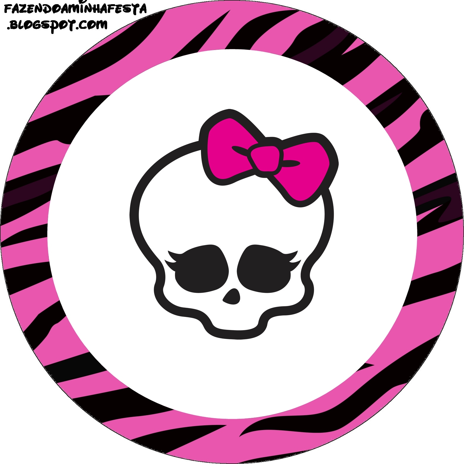 Monster High Free Printable Labels
