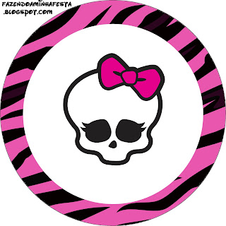 monster high free printable toppers