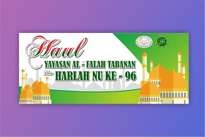 Download Desain Harlah NU 2019 CDR