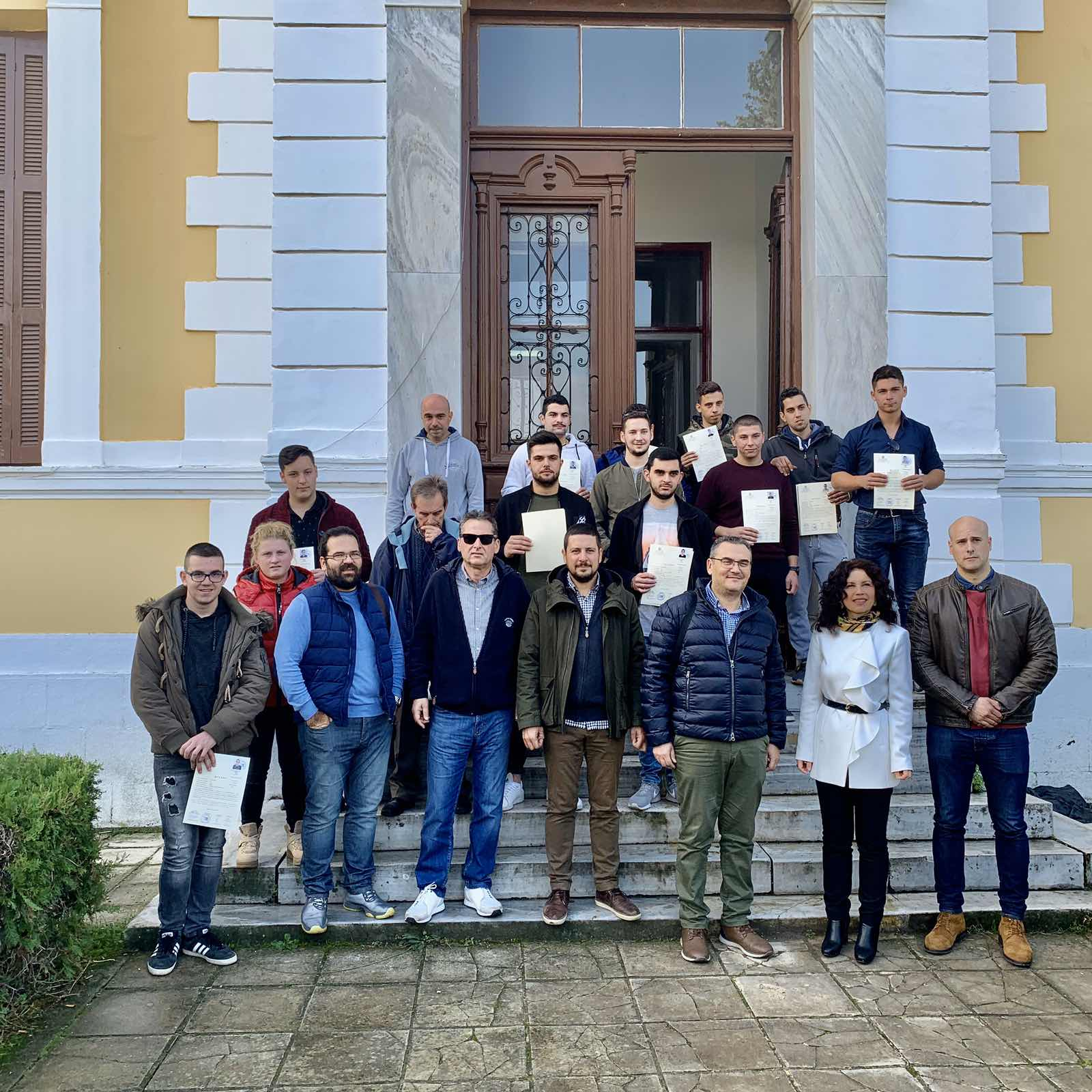 Επίσκεψη Γ.Σ.Λ. στην Αβερώφειο Γεωργική Σχολή Λάρισας (ΦΩΤΟ)