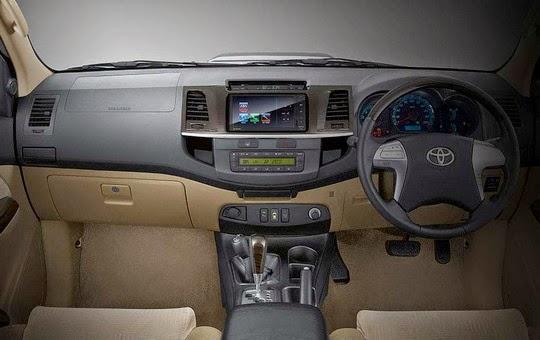 Interior Toyota New Fortuner Tipe G V Trd Luxury Manual