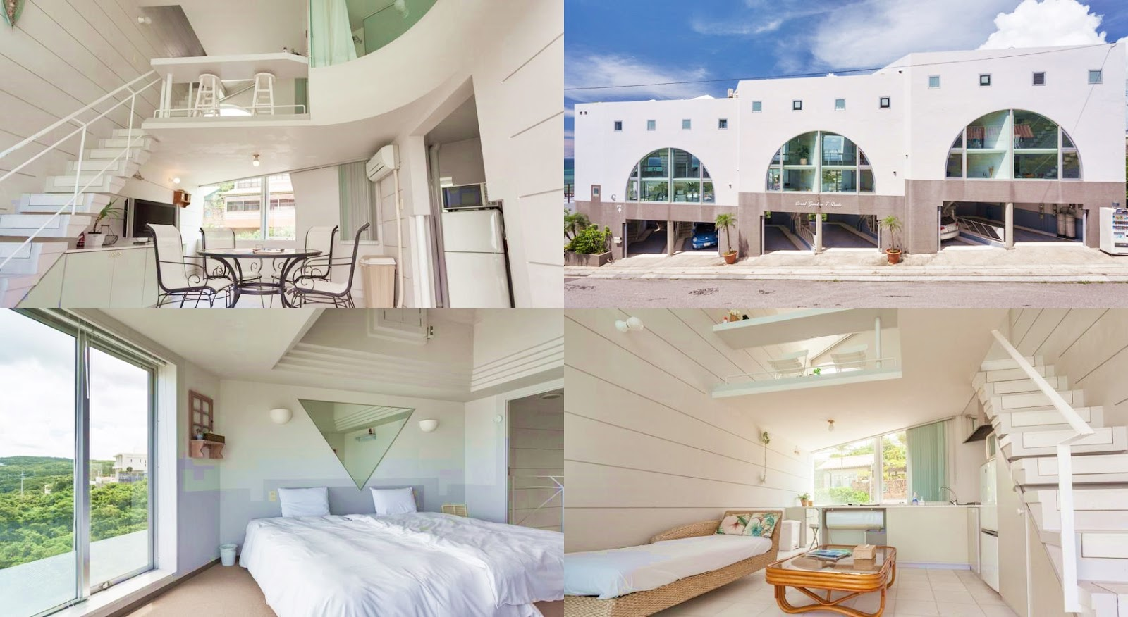 沖繩-住宿-推薦-飯店-旅館-民宿-公寓-珊瑚花園七池公寓酒店-Coral-Garden-7-Pools-Okinawa-hotel-recommendation