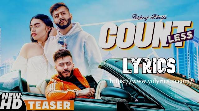 Countless Lyrics - Pukhraj Bhalla | YoLyrics