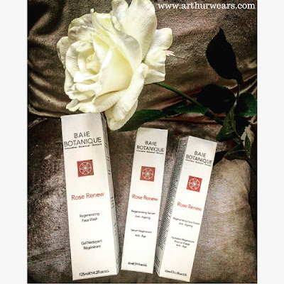 Rose renew skincare  range by Baie Botanique