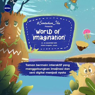 Eratkan Bonding Ibu Anak bersama Nivea di 'World of Imagination'