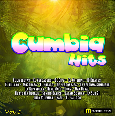 CUMBIA HITS - VOL 1 (CD 2019) - LO MAS ESCUCHADO 2019