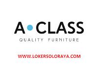 Lowongan Kerja Solo Admin Project dan Kepala Administrasi di Produsen dan Exportir Furniture A Class