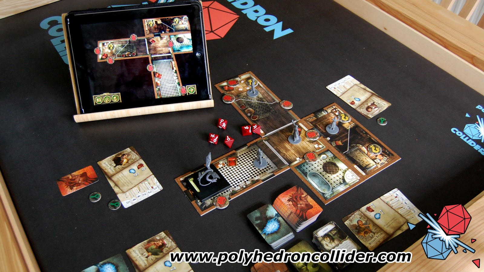 Mansions of madness app driven board game review