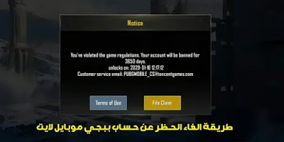 how to unban pubg mobile lite account
