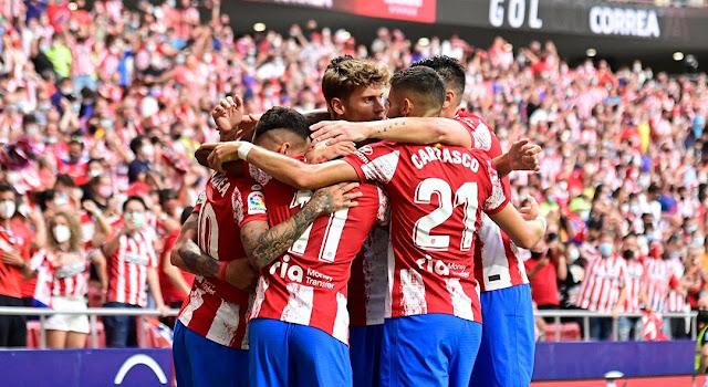ملخص وهدف فوز اتلتيكو مدريد علي التشي (1-0) الدوري الاسباني