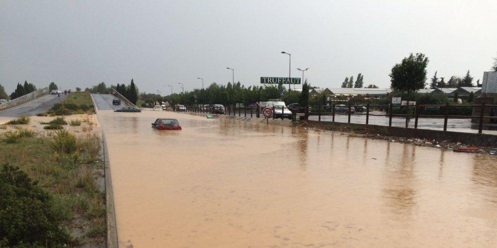 Inondations à Pérols