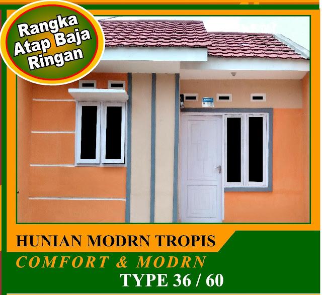 Rp.141 Jt Dijual Rumah Subsidi DP Murah - Lokasi Di Desa Cinangka Kecamatan Ciampea Bogor