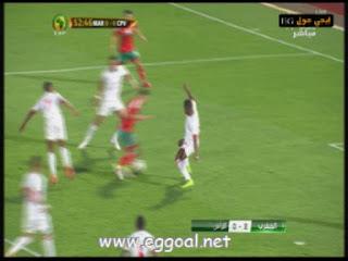 اهداف مباراة المغرب والرأس الاخصر 2 - 0  تصفيات كأس افريقيا 2017 الثلاثاء 29-3-2016