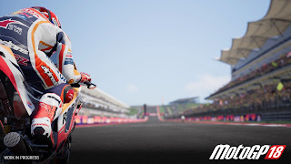 Moto GP 18 PS Vita Wallpaper