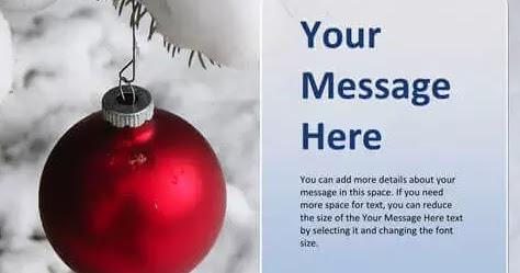 Biglietti Di Natale Modelli.Auguri Di Buone Feste In Word E Pdf Da Scrivere E Stampare Navigaweb Net
