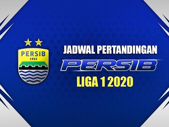 Jadwal Lengkap Pertandingan Persib Liga 1 Indonesia 2020