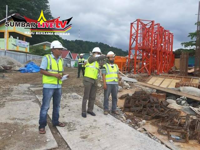 Pembangunan Masjid Terapung Pantai Carocok Painan
