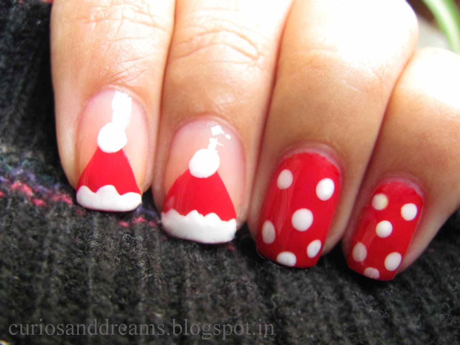 Chirstmas Nail Art designs
