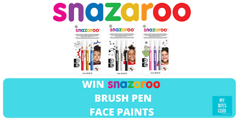 Win Snazaroo Brush Pen Face Paints