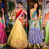 Latest Indian Lehenga Saree with Blouse Designs 2016-17 for Bridal