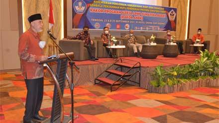 Rakor Program Kerja LPMP Sumatera Barat