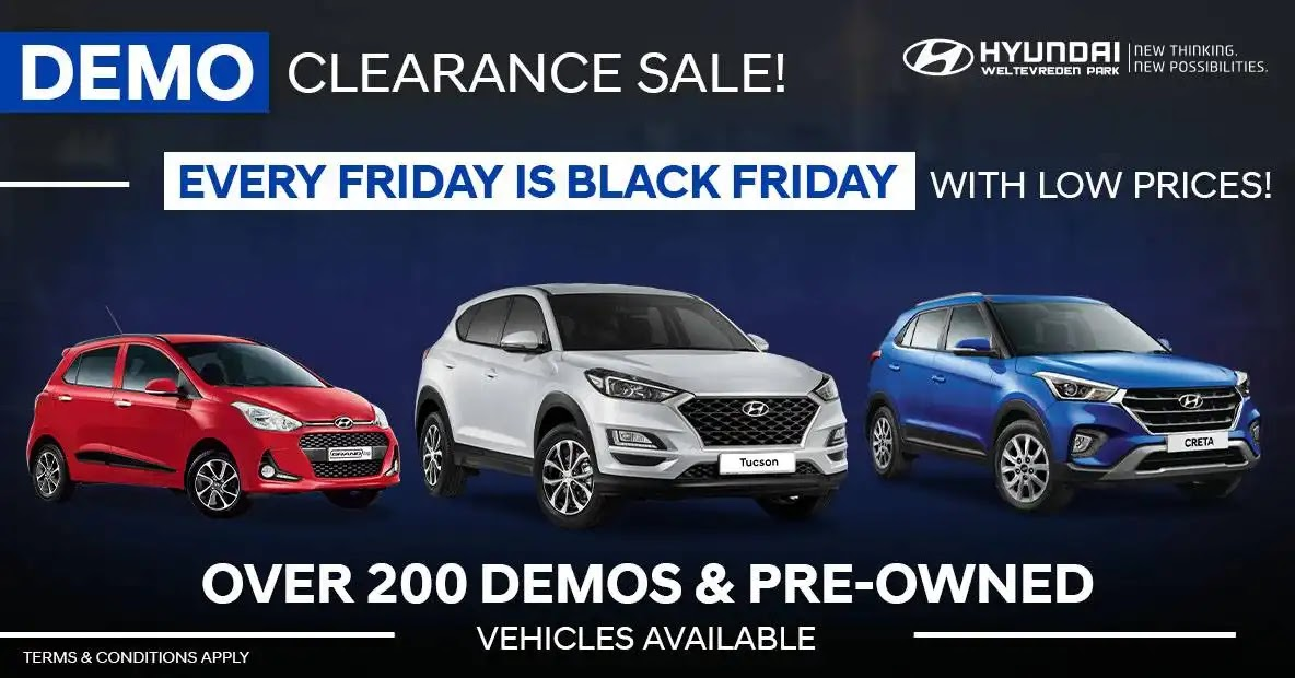 Hyundai Weltevreden - Black Friday