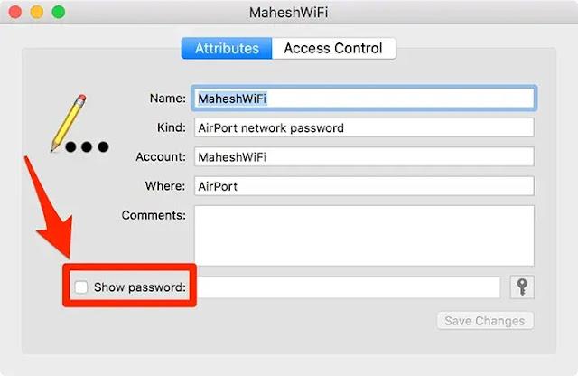 كيفية معرفة باسورد شبكة wifi المحفوظة بجهازك للايفون بدون برامج