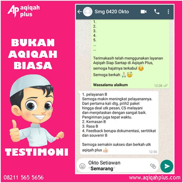 Catering Aqiqah Wilayah Semarang