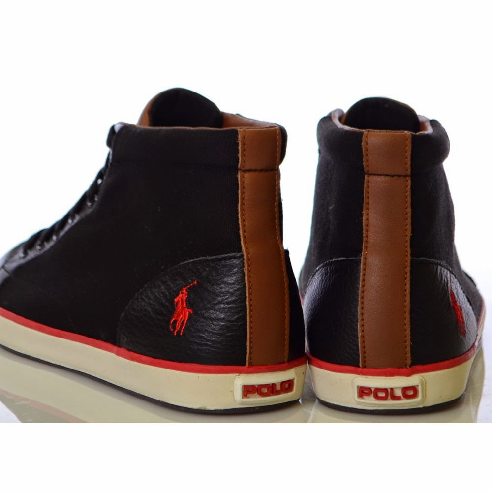 Pix For Black Polo Shoes High Top Fashion S Feel Tips