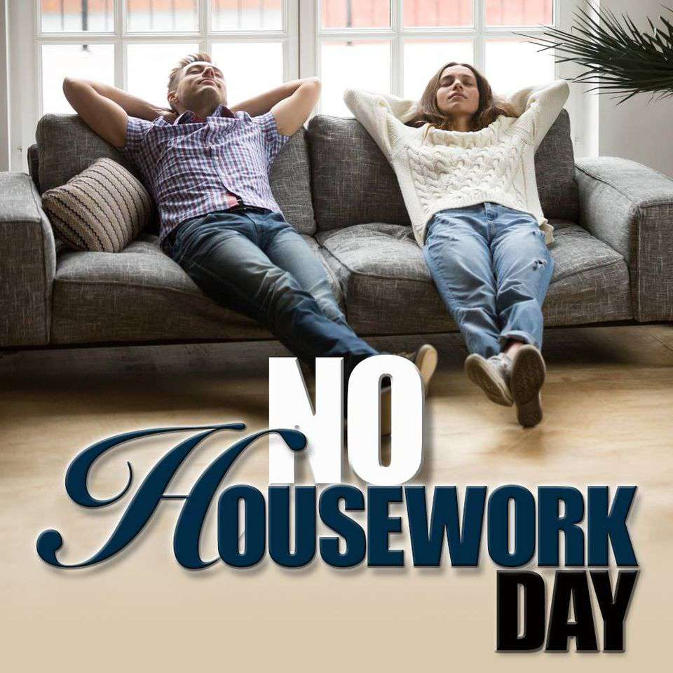 National No Housework Day Wishes