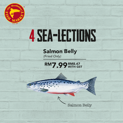 The Manhattan FISH MARKET Fried Salmon Belly