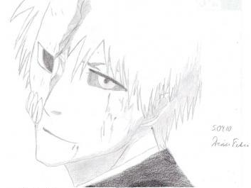 How To Draw Anime Bleach Ichigo Half Hollow