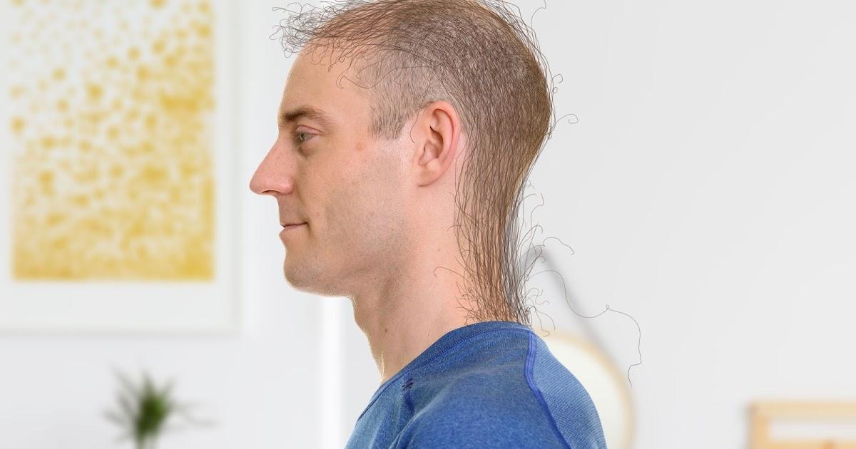 Rückenhaare Mann