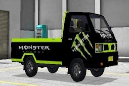 Livery Keren MOD Mobil Pickup Bus Simulator Indonesia [BUSSID] Terbaru