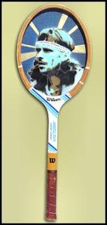 Jesse J. Lockwood tennis racket art