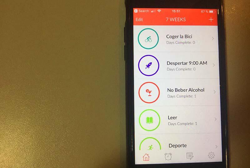 7 Weeks, la app para crear hábitos