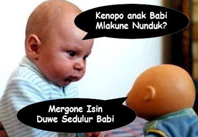 fhoto bayi kembar gokil