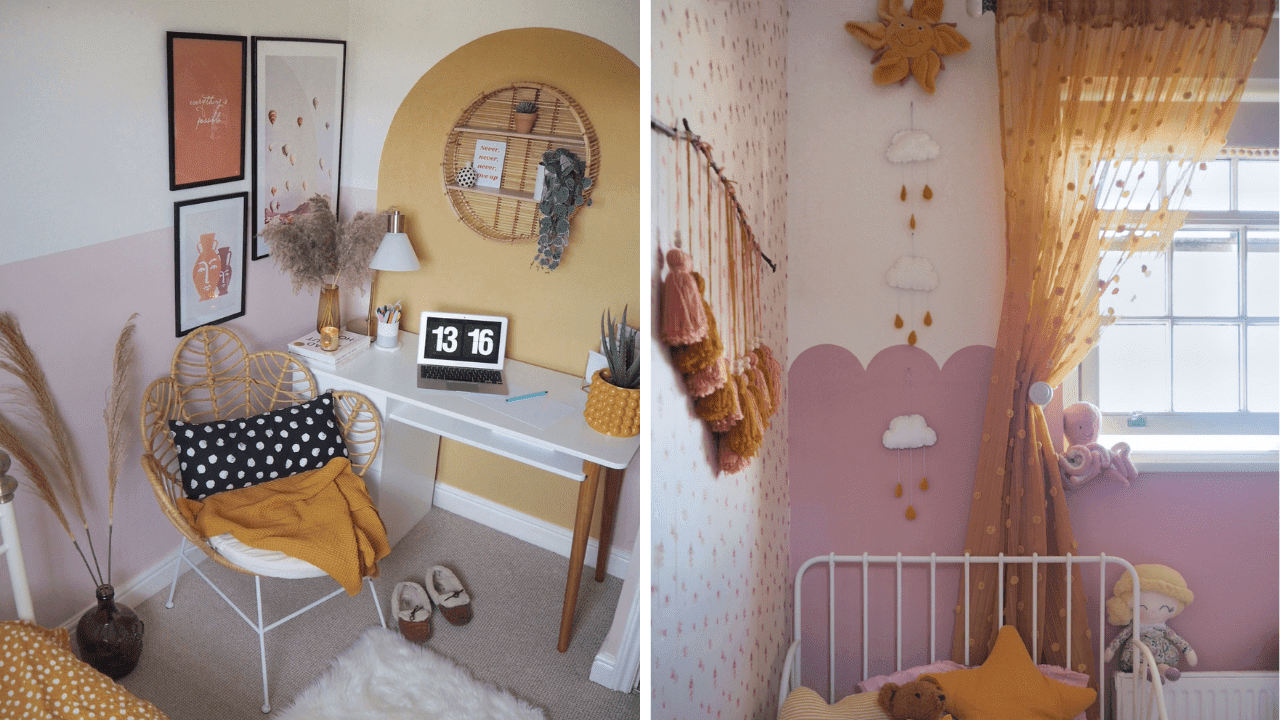 How to add colour to your home through paint, interiors and decor. Home interior inspiration on a budget.