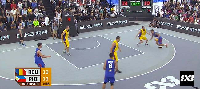 Philippines def. Romania, 21-19 (REPLAY VIDEO) 2016 FIBA 3x3 World Championships