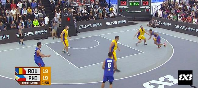 Philippines def. Romania, 21-19 (REPLAY VIDEO) 2016 FIBA 3x3 World Championships