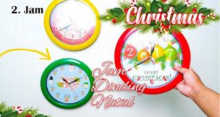 Jam merupakan salah satu souvenir natal terfavorit