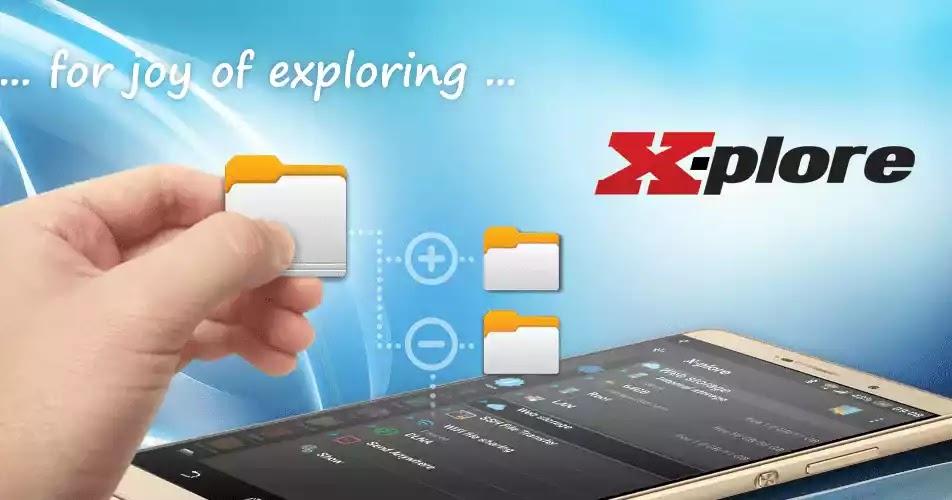 X-plore File Manager هو تطبيق لإدارة الملفات للهواتف المحمولة ، مع الكثير من الوظائف الرائعة لنظام الملفات في الهاتف.