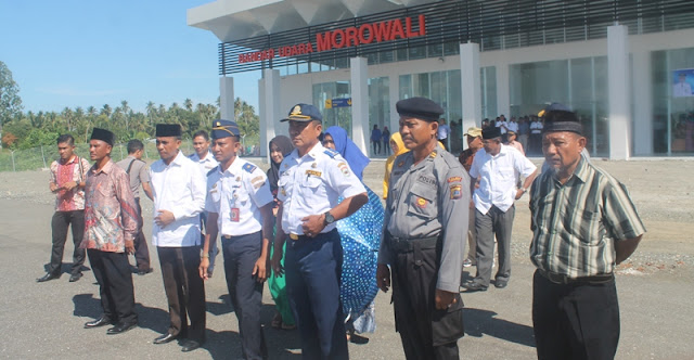 Mulai 27 Maret, Pesawat ATR Rutin 2 Kali Sepekan di Bandara Morowali