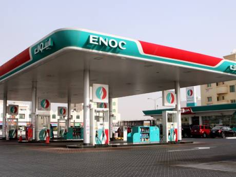 ENOC open modern service station at Dubai Academic City
