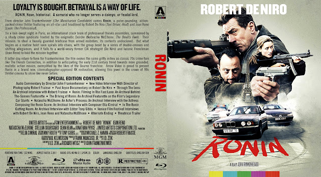 Ronin Bluray Cover