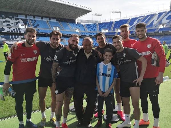 Fallece el pequeño Jose, una historia que conmovió al Málaga y a todo el malaguismo
