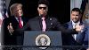 Trump llamó al podio al dominicano Juan Soto en la Casa Blanca
