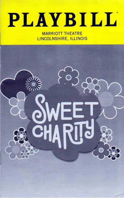 SWEET CHARITY PLAYBILL BOOK LINCOLNSHIRE,IL OCTOBER 2018