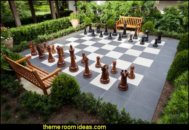 Giant Oversized  Chess Set Giant Chess Pieces  jumbo plastic chess sets