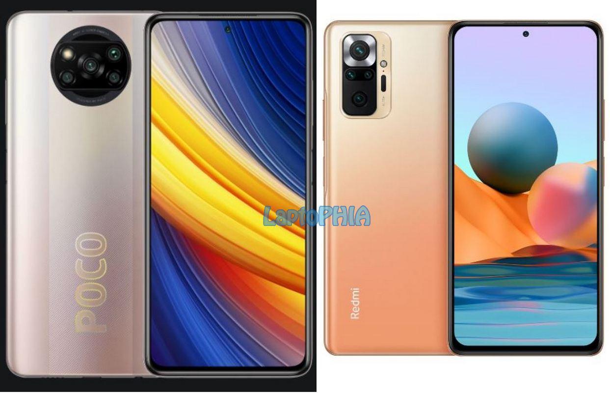 Komparasi Poco X3 Pro vs Xiaomi Redmi Note 10 Pro